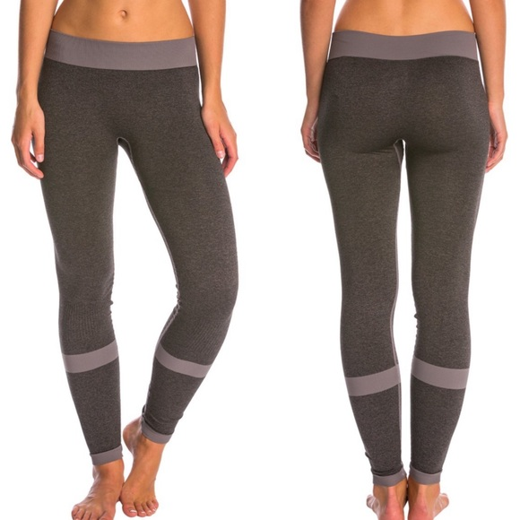 666b8c4dbc954 Asics Pants | Seamless Fitted Leggings 78 Length Running | Poshmark